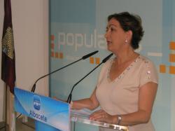 María Luisa Soriano, diputada regional del PP.