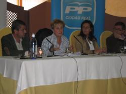 Marcial Marín, en la reunión de Malagón (Ciudad Real).