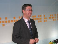 Marcial Marín, en la sede del PP de Albacete.
