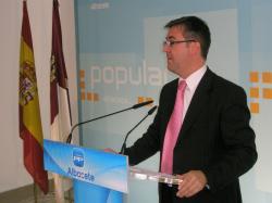 Marcial Marín, en la sede provincial.