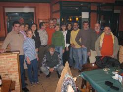 Diputados del PP en Minaya.