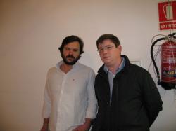 Nacho Uriarte y Max Monasor.