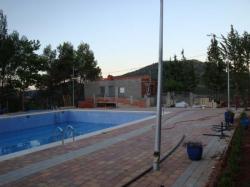 La piscina de Paterna, fuera de uso.