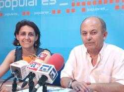 Sonia Martínez y Alonso Pérez.