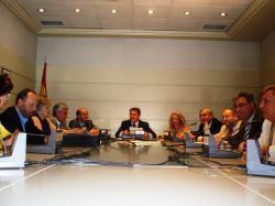 Reunión de los senadores del PP de CLM.