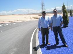 A. Serrano y Mollá, en el Parque Empresarial de Caudete.