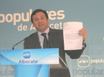 Teruel, con la carta de la Asociación de Comerciantes.