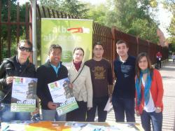 Nuevas Generaciones, en el Campus Universitario de Albacete.