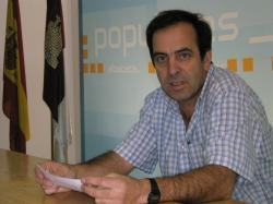 Javier urrea, portavoz PP de Villalgordo del Júcar.