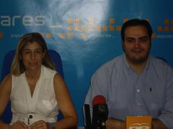 Carmen Collado y Francisco Abraila.