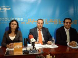 Rueda de prensa del Grupo Popular en Villarrobledo.