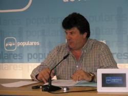 Antonio Serrano, en la sede provincial.