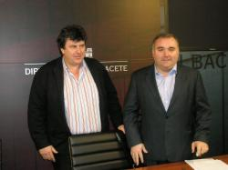 Antonio Serrano y Constantino Berruga hicieron balance de 2010.