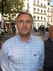 Juan Gómez, alcalde de Pétrola.
