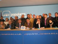 Reunión del Comité Provincial de Alcaldes del PP.