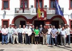 Alcaldes en defensa del campo manchego.