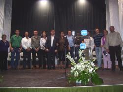 El presidente del PP, Marcial Marín, en la presentación de Alpera.
