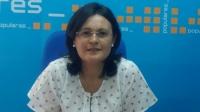 Amalia Gutiérrez, portavoz del PP de Villarrobledo.