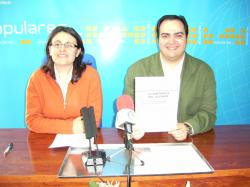 Amalia Gutiérrez y Fran Abraila.