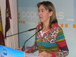 Ana Guarinos, portavoz del PP en las Cortes.