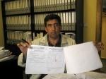 Antonio Herrero, candidato del PP en El Bonillo.