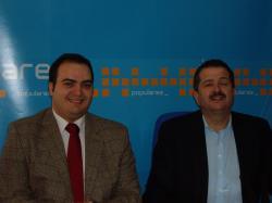 Francisco Abraila y Antonio Rojas.
