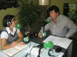 Antonio Serrano, entrevistado por Alicia Collado en Radio Chinchilla.