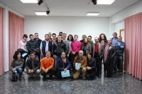 Reunión del consejero Marcial Marín con el PP de Balazote.