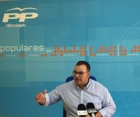 Bernardo Ortega,  del Grupo Popular de Villarrobledo.