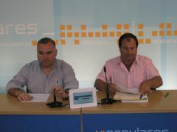 Constantino Berruga y Antonio González.