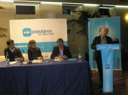 Albert Boadella, en la Jornada Cultural del Partido Popular.