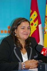 Cesárea Arnedo, en Almansa.