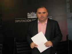 Constantino Berruga, viceportavoz del PP en la Diputación.