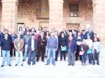 Los candidatos del PP, en Alcaraz.