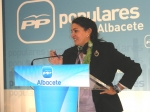 Cesárea Arnedo, secretaria provincial del PP.
