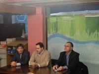 Reunión con la junta local del PP de Caudete.