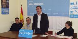 Marcial Marín y Mollá, en Caudete.