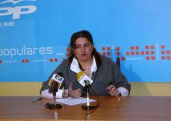 Cesárea Arnedo, en La Roda.
