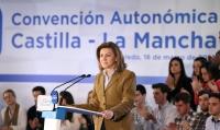 María Dolores Cospedal en la clausura de la Convención del PP-CLM.
