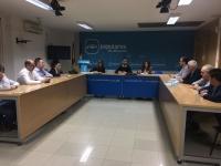 Reunión de la Comisión Provincial de Educación del PP de Albacete.