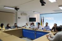 Comsión de Educación en la sede provincial del PP.