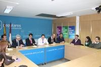 Imagen de la reunión de la Comisión de Hacienda.