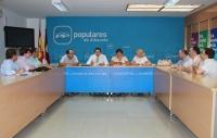 En la imagen la reunión del Comité de Dirección del PP de Albacete.