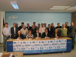 Constituido el Comité de Alcaldes del PP.