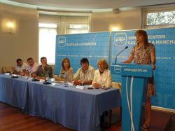 Comité Ejecutivo del PP de Castilla-La Mancha en Albacete.