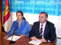 Ana Guarinos y Constantino Berruga.