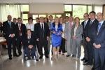 Tirado felicitó a Bayod y todo su grupo municipal.