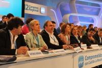 La presidenta Cospedal, junto a todo el equipo de PP-CLM: