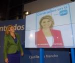 María Dolores Cospedal, hoy en el Palacio de Congresos de Albacete (19,15 h.)
