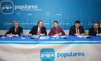 Cospedal preside la reunión del Comité Ejecutivo del PP-CLM.